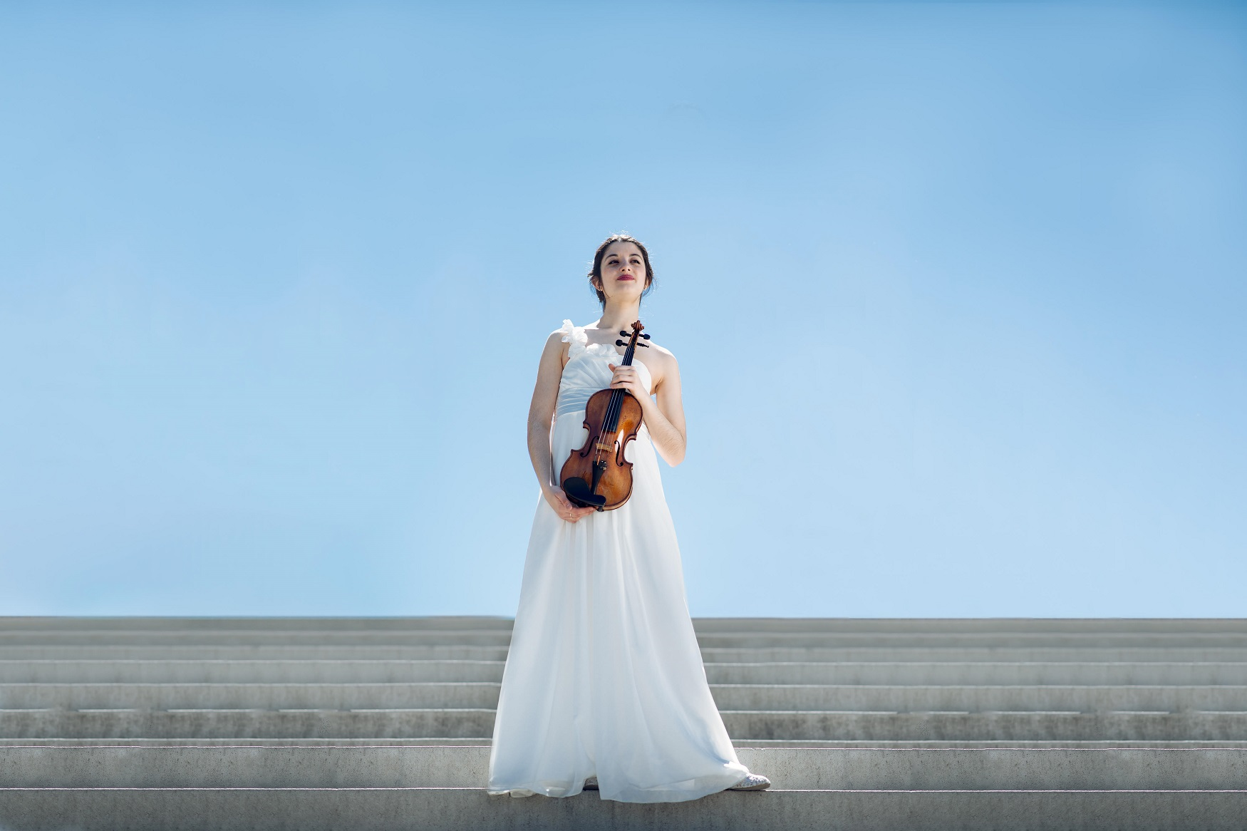 María Dueñas Fernández professional violinist classical music